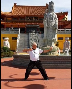 Demonstrating Qigong